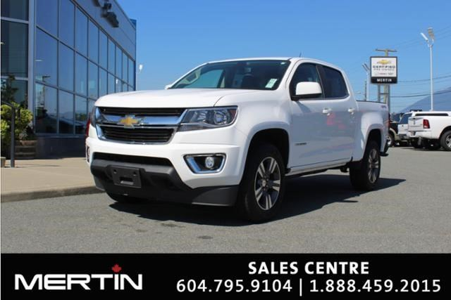2016 CHEVROLET COLORADO 4WD LT in Chilliwack, British Columbia