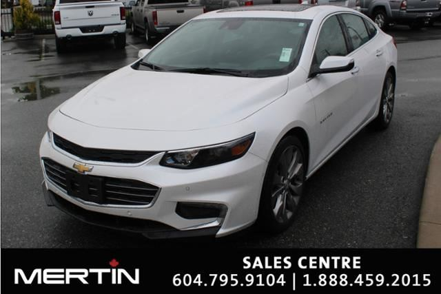 2017 CHEVROLET MALIBU Premier in Chilliwack, British Columbia