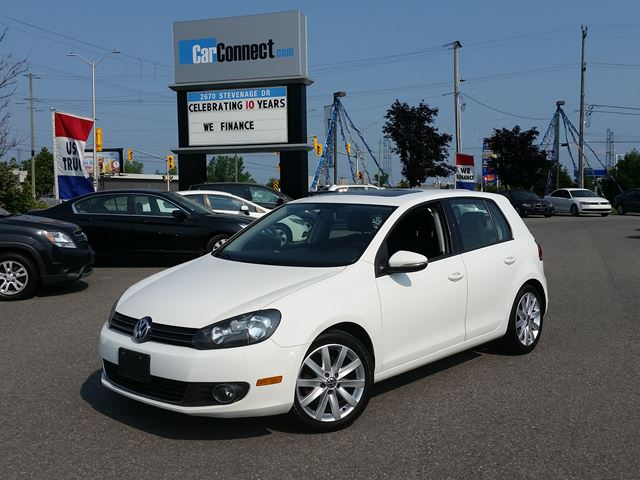2012 Volkswagen Golf ONLY $19 DOWN $67/WKLY!! in Ottawa, Ontario