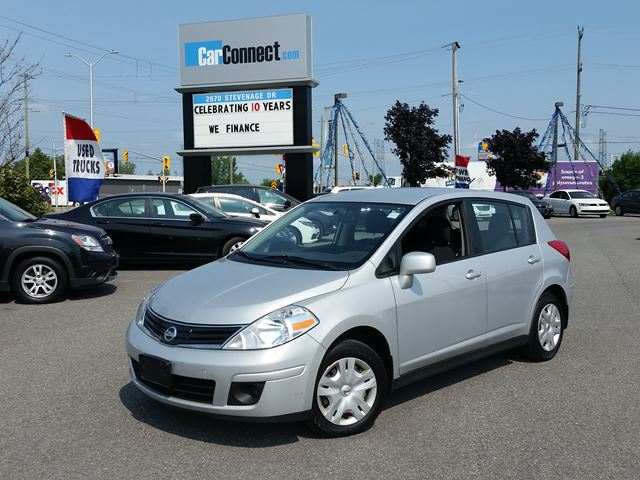 2012 Nissan Versa ONLY $19 DOWN $36/WKLY!! in Ottawa, Ontario