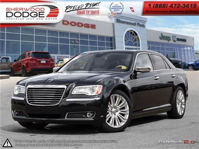 2013 CHRYSLER 300 BASE  510 WARR  HEATED COOLED SEATS  SMARTBEAM HID in Sherwood Park, Alberta