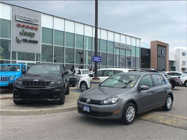 2012 Volkswagen Golf 2.5L Trendline 5DR (M5) in Pickering, Ontario