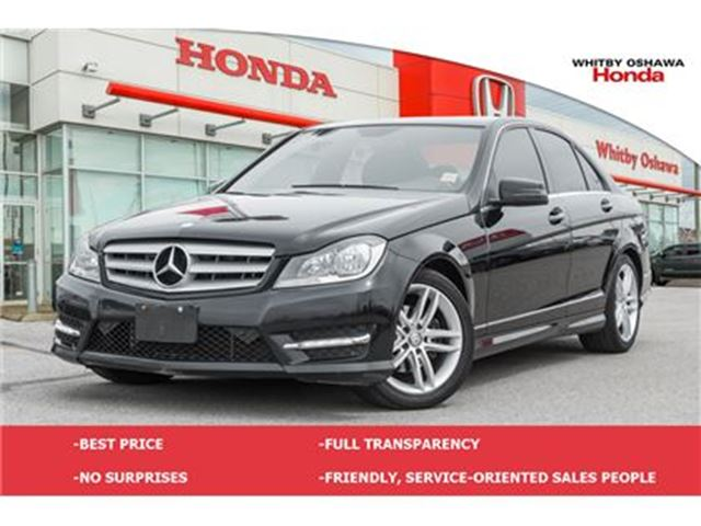 2012 MERCEDES-BENZ C-CLASS C250 4MATIC in Whitby, Ontario