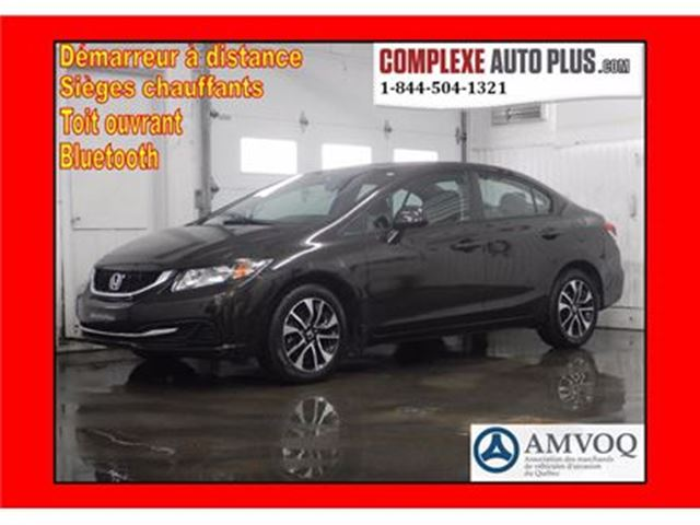 2013 HONDA CIVIC EX *Toit ouvrant, Camera recul, Mags in Saint-Jerome, Quebec
