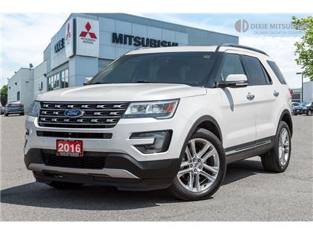 2016 Ford Explorer Limited   Clean Carproof   Navi   Low Mileage in Mississauga, Ontario