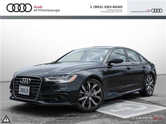2013 Audi A6 3.0T (Tiptronic) in Mississauga, Ontario