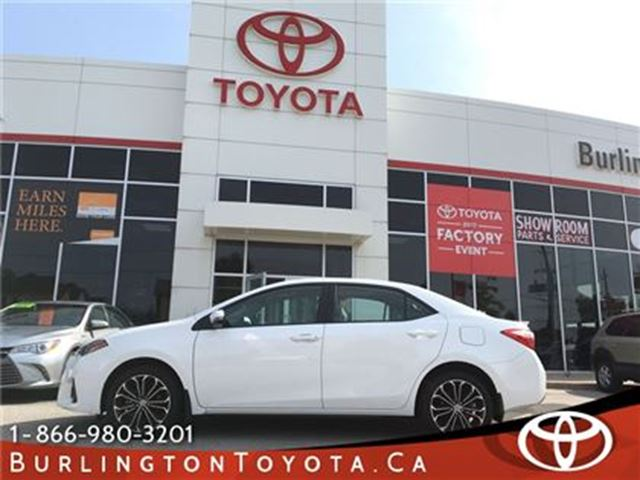 2016 Toyota Corolla SPORT LOADED in Burlington, Ontario