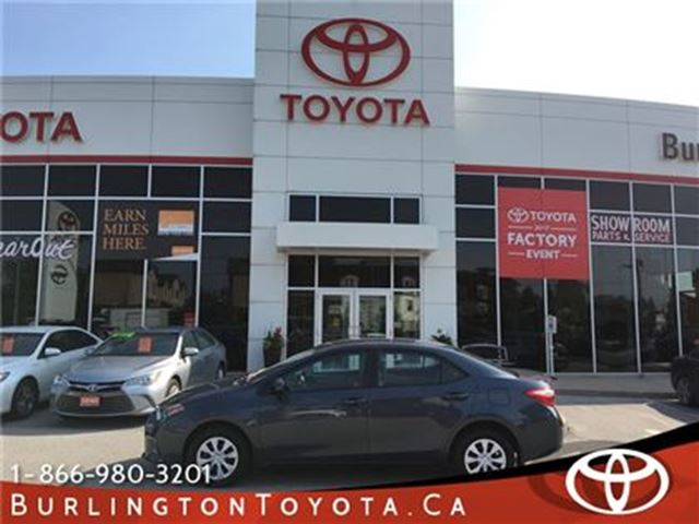 2016 Toyota Corolla LE ECO ONLY 8000 KM'S in Burlington, Ontario