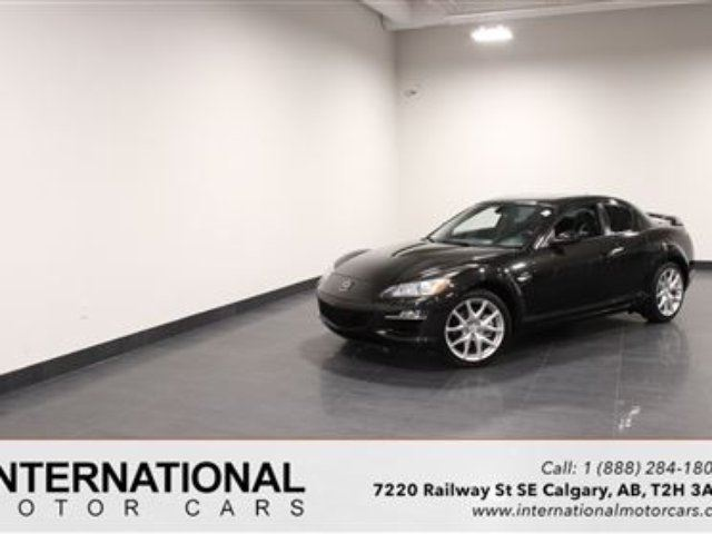 2011 MAZDA RX-8 GT! LOW KMS! MINT! in Calgary, Alberta