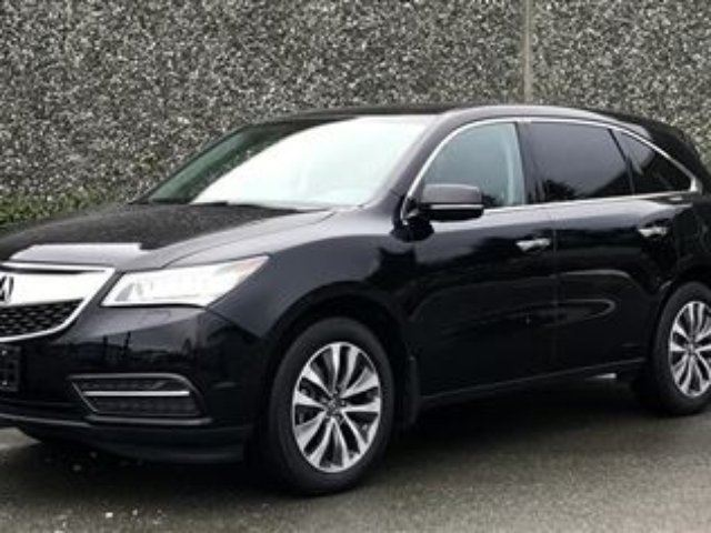 2015 ACURA MDX Tech at in North Vancouver, British Columbia