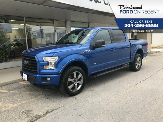 2015 FORD F-150 XLT Supercrew 4x4 *302A Sport Package* in Winnipeg, Manitoba