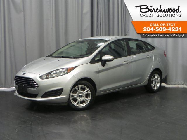 2016 FORD FIESTA 4dr Sdn SE in Winnipeg, Manitoba