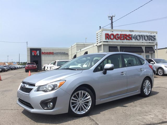 2014 SUBARU IMPREZA LTD - 5SPD - HATCH - LEATHER in Oakville, Ontario