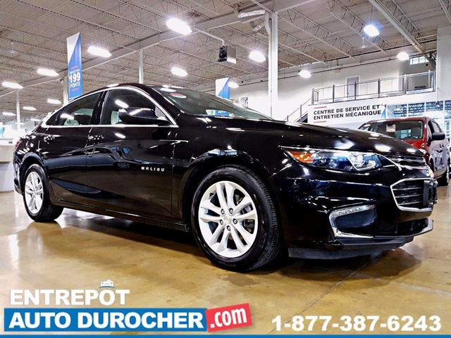2017 Chevrolet Malibu LT - AUTOMATIQUE - AIR CLIMATISn++ - CAMn++RA DE RE in Laval, Quebec