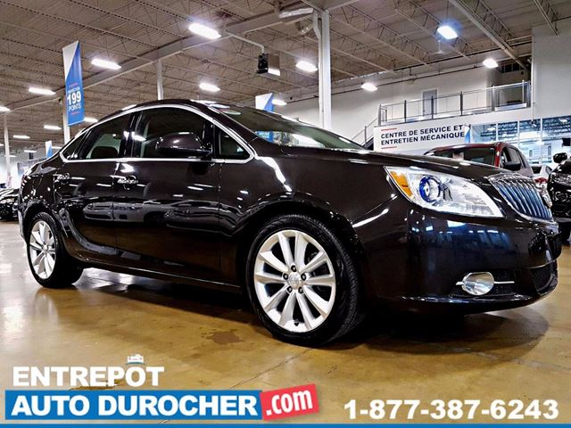 2013 Buick Verano LEATHER - AUTOMATIQUE - CUIR - CAMn++RA DE RECUL in Laval, Quebec