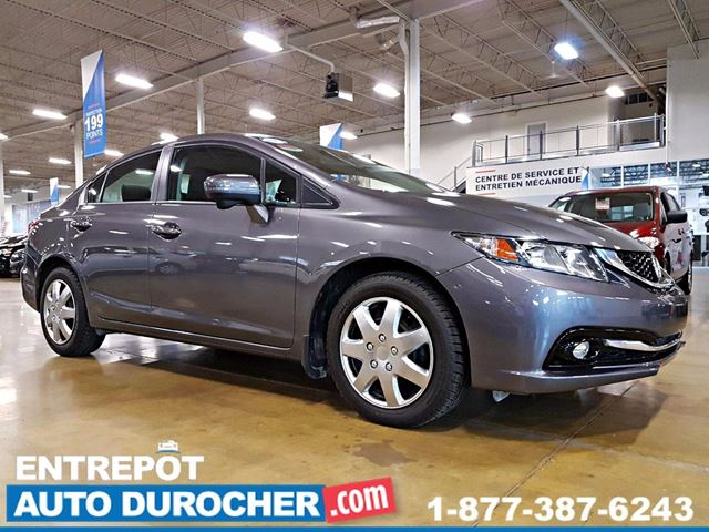 2015 Honda Civic TOURING - AUTOMATIQUE - TOUT n++QUIPn++ - CUIR in Laval, Quebec
