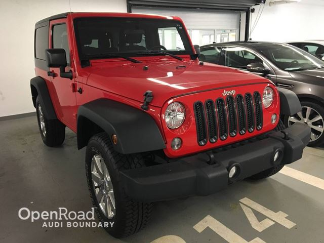 2015 Jeep Wrangler 4WD 2dr Sport in Vancouver, British Columbia