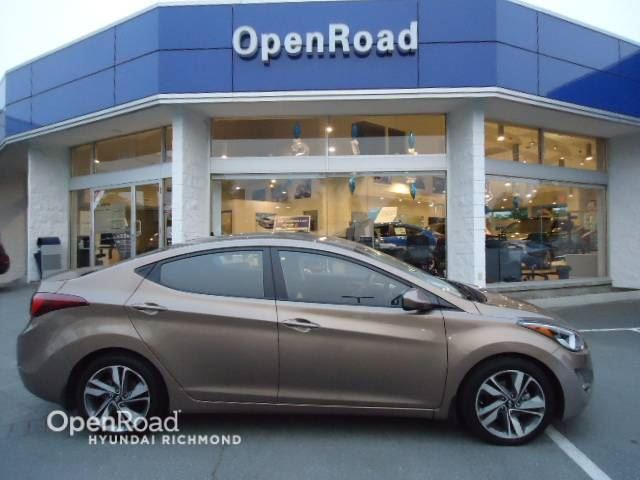 2015 HYUNDAI ELANTRA GLS- FINANCE AS LOW AS 0.90% in Richmond, British Columbia