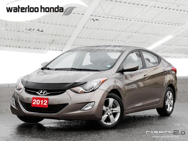 2012 HYUNDAI ELANTRA GLS Only 50,600 km! One Owner, Automatic, Heated Seats and More! in Waterloo, Ontario