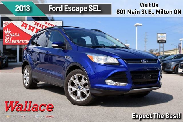 2013 FORD ESCAPE SEL/1-OWNER/CLEAN HSTRY/4WD/MOONROOF/HTD SEATS in Milton, Ontario