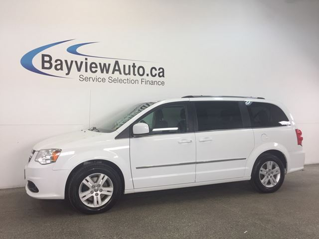 2016 Dodge Grand Caravan CREW - QUADS! REV CAM! HEATED SEATS! STOW N GO! in Belleville, Ontario