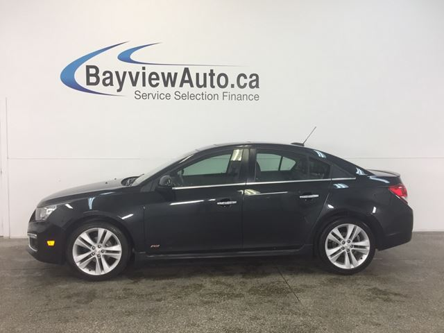 2016 Chevrolet Cruze RS - AUTO! TURBO! REM START! ROOF! CRUISE! in Belleville, Ontario