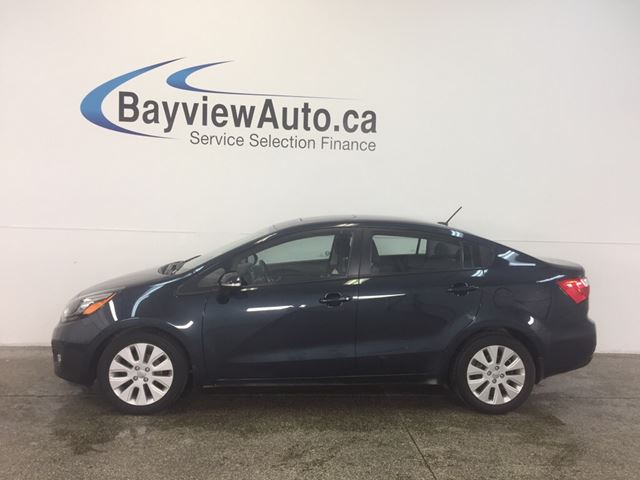2014 Kia Rio EX - GDI! AUTO! A/C! SUNROOF! BLUETOOTH! REV CAM!  in Belleville, Ontario