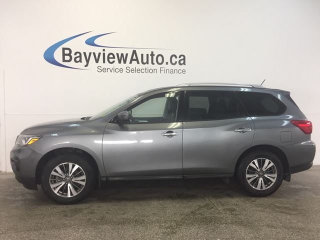 2017 Nissan Pathfinder SL - REM START! REV CAM! BSD! 7 RIDER! CRUISE! in Belleville, Ontario