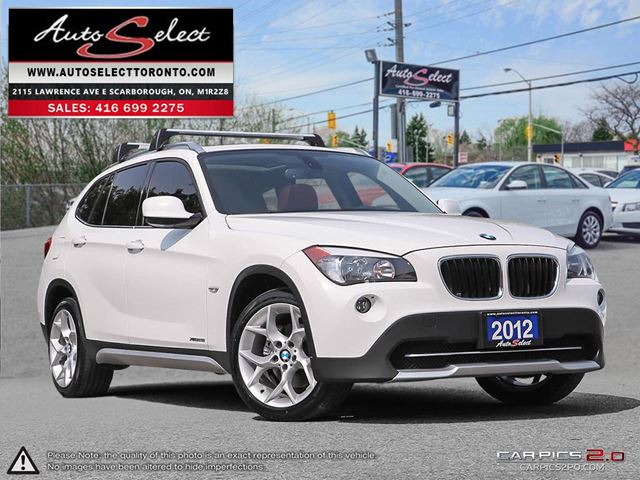 2012 BMW X1 xDrive28i AWD ONLY 96K! **SPORT PKG** CLEAN CARPROOF in Scarborough, Ontario