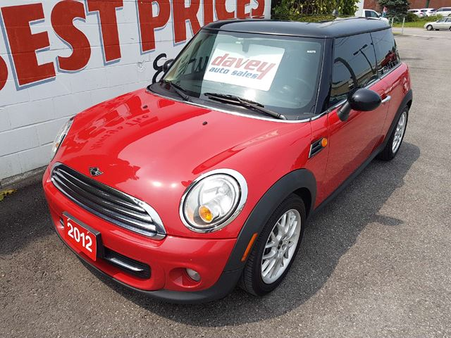 2012 MINI Cooper 2 SETS OF RIMS AND TIRES, POWER SUNROOF in Oshawa, Ontario