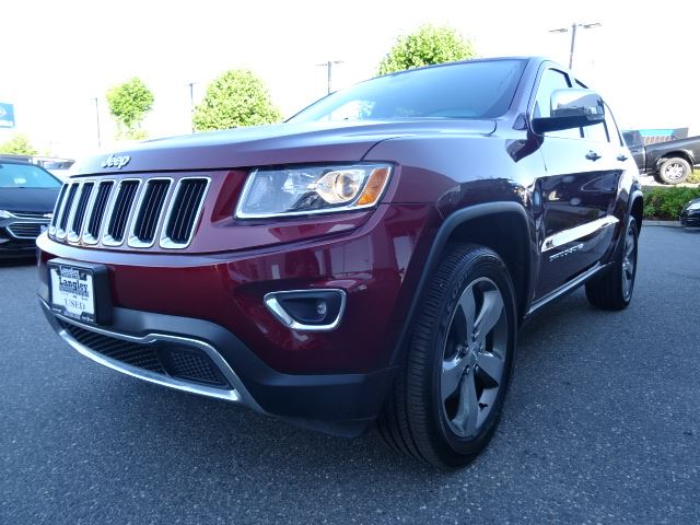 2016 Jeep Grand Cherokee Limited W Leather Interior Sunroof Bluetooth Surrey British