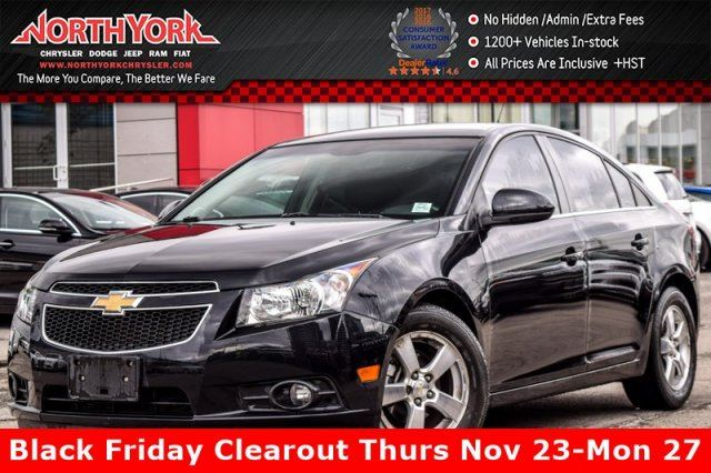 2012 Chevrolet Cruze LT Turbo+ with 1SB in Thornhill, Ontario