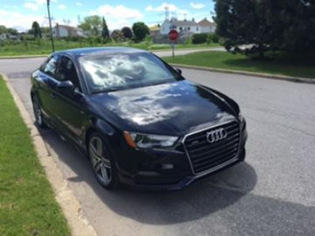 2016 AUDI A3 Quattro Progressiv S Line Audi Care, Wear Care, Ext Warranty in Mississauga, Ontario