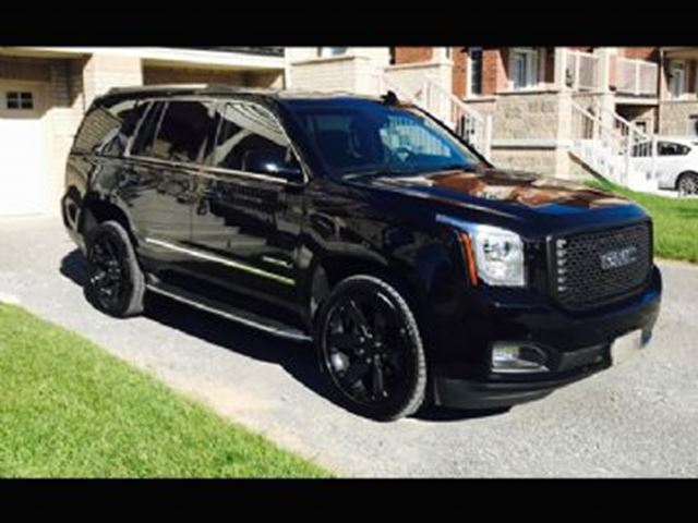 2017 GMC YUKON 4X4 YUKON DENALI MIDNIGHT EDITION in Mississauga, Ontario
