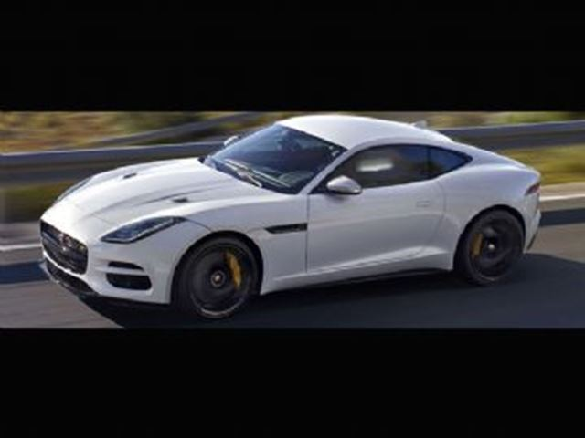 2018 Jaguar F-TYPE 340 Coupe Automatic RWD in Mississauga, Ontario