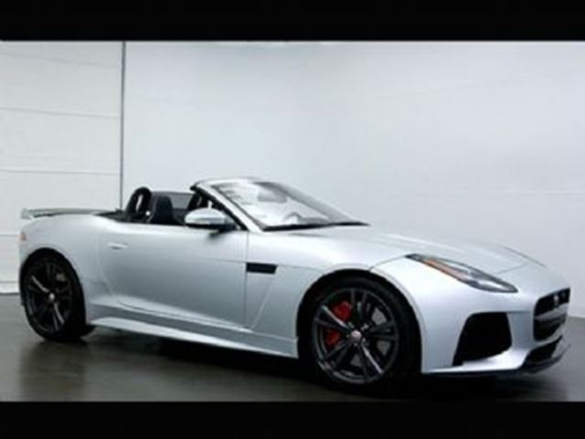 2017 Jaguar F-TYPE Converitble R ALL WHEEL DRIVE in Mississauga, Ontario