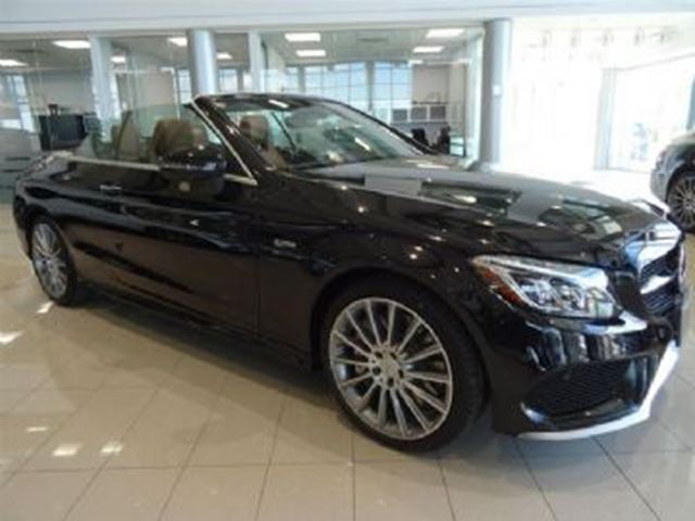 2017 Mercedes-Benz C-Class C43 AMG 4MATIC Cabriolet in Mississauga, Ontario