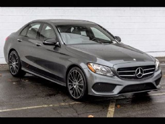 2017 Mercedes-Benz C-Class C300 4Matic Sedan in Mississauga, Ontario