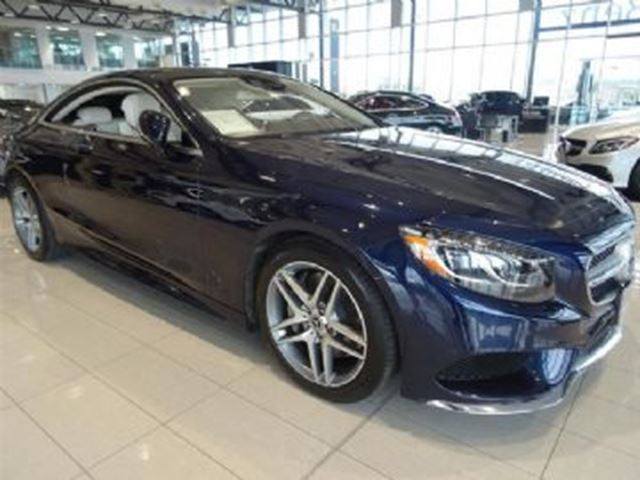 2015 Mercedes-Benz S-Class S550 4MATIC Coupe in Mississauga, Ontario