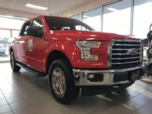 2017 FORD F-150 XLT XTR 4WD Crew Cab EcoBoost in Mississauga, Ontario