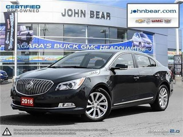 2016 Buick LaCrosse Leather in St Catharines, Ontario