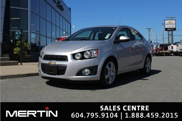 2016 CHEVROLET SONIC LT in Chilliwack, British Columbia