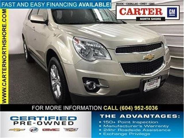 2013 CHEVROLET EQUINOX LT in North Vancouver, British Columbia