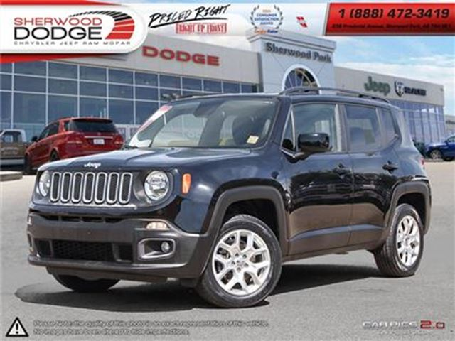 2015 JEEP RENEGADE NORTH  510 WARR  SAT RADIO  A/C  BLUETOOTH  ROOF R in Sherwood Park, Alberta