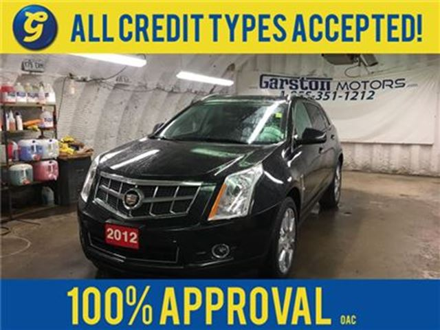 2012 CADILLAC SRX PREMIUM*AWD*NAVIGATION*DUAL DVD*PANORAMIC SUNROOF* in Cambridge, Ontario