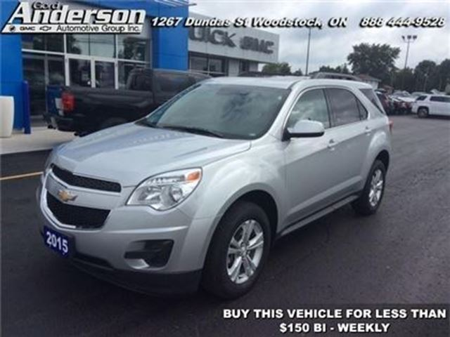 2015 CHEVROLET Equinox LT w/1LT - Bluetooth -  Heated Seats - Low Mileage in Woodstock, Ontario