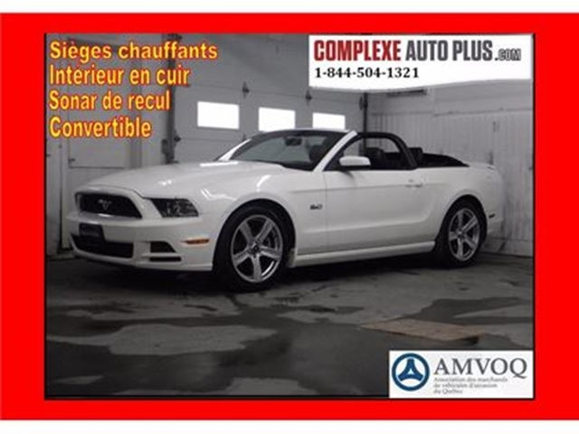 2013 Ford Mustang GT V8 5.0L Convertible *Cuir/Mags 19?? in Saint-Jerome, Quebec