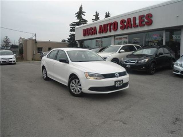 2013 Volkswagen Jetta AUTO AIR HEATED SEAT TREND LINE   PW PL PM KEYLESS in Oakville, Ontario