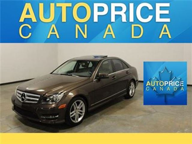 2013 Mercedes-Benz C-Class C300 4MATIC NAVIGATION MOONROOF in Mississauga, Ontario