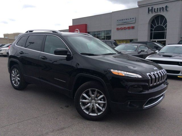 2017 JEEP CHEROKEE Limited in Milton, Ontario